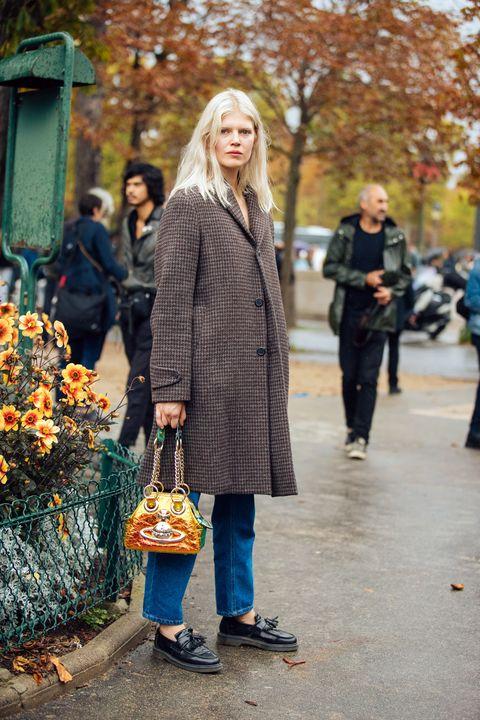 Street fashion, People, Yellow, Fashion, Snapshot, Daytime, Standing, Street, Human, Blond,
