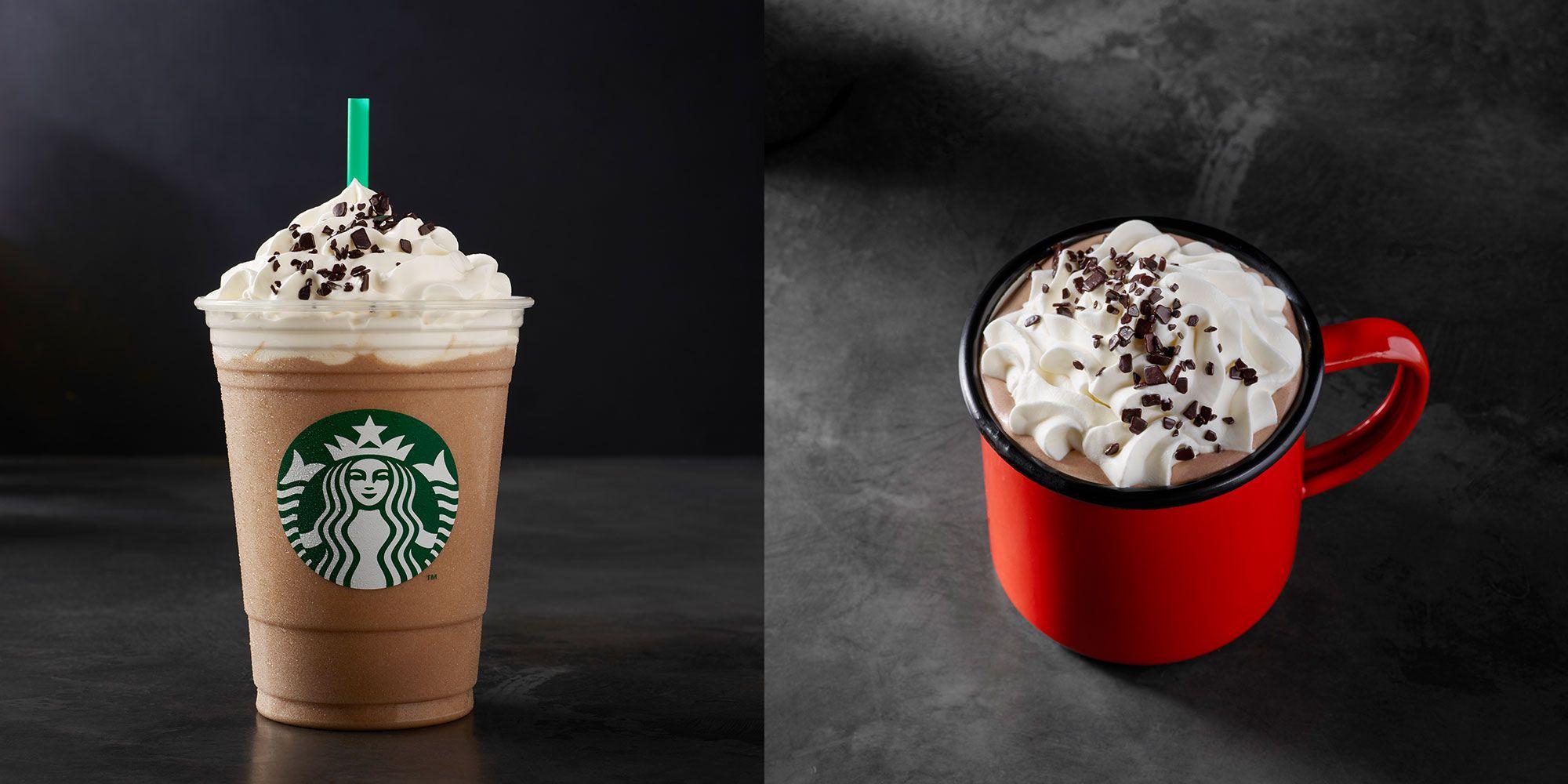 Starbucks' Black And White Mocha