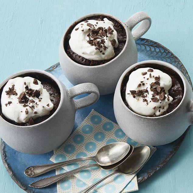 mocha mug cakes