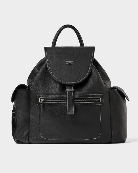 Bag, Handbag, Black, Leather, Fashion accessory, Product, Shoulder bag, Material property, Luggage and bags, Tote bag,