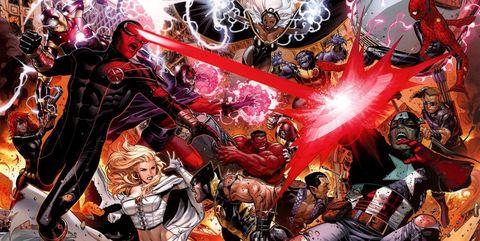 X-Men vs Vengadores