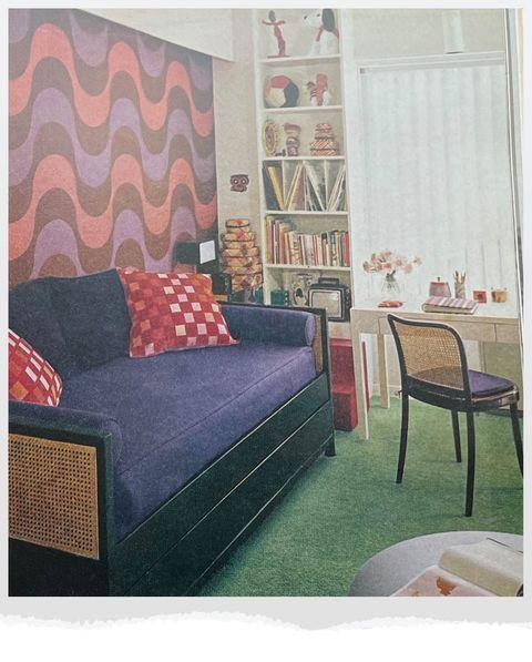 mod bedroom for girl