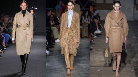 Per la moda autunno inverno 2019-2020 un solo cappotto non basterà, ma dovrai scegliere più modelli da categorie diverse come il cappotto cammello classico, il cappotto teddy, la mantella e il piumino.