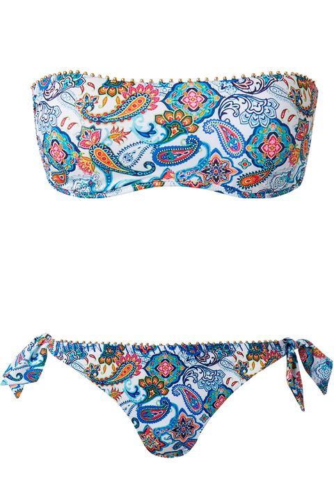 Bikini estampado cachemir Calzedonia