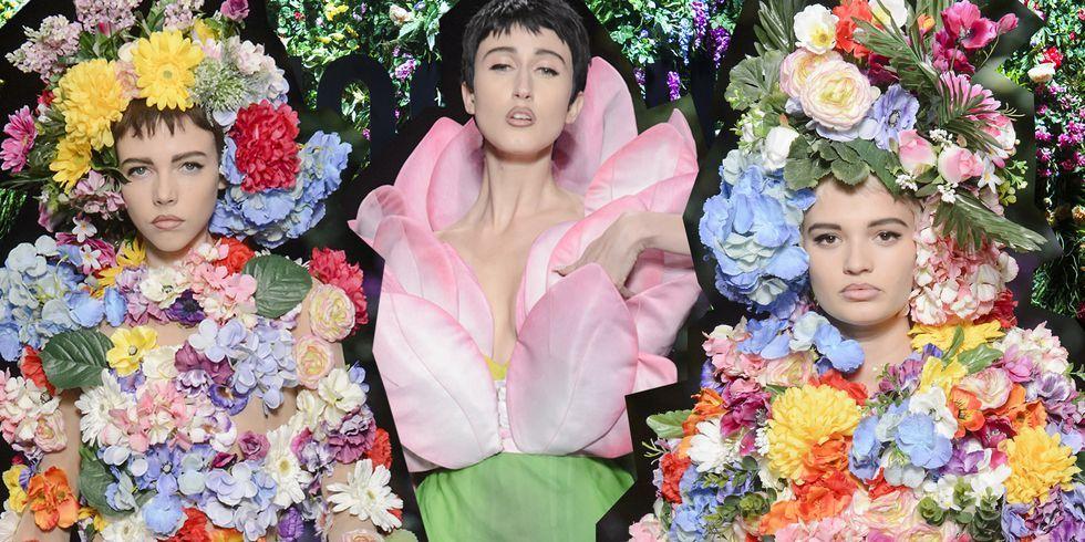Il floreale è la vera tendenza di moda della Primavera 2018, e questi sono i vestiti a fiori più belli della stagione
