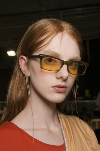 Eyewear, Hair, Glasses, Face, Sunglasses, Hairstyle, Cool, Eyebrow, Lip, Vision care,