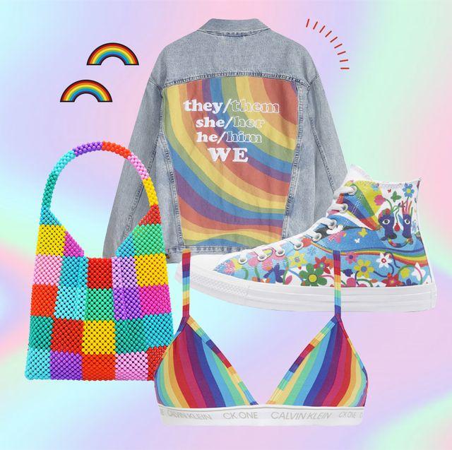 ropa y accesorios para celebrar el orgullo 2021
