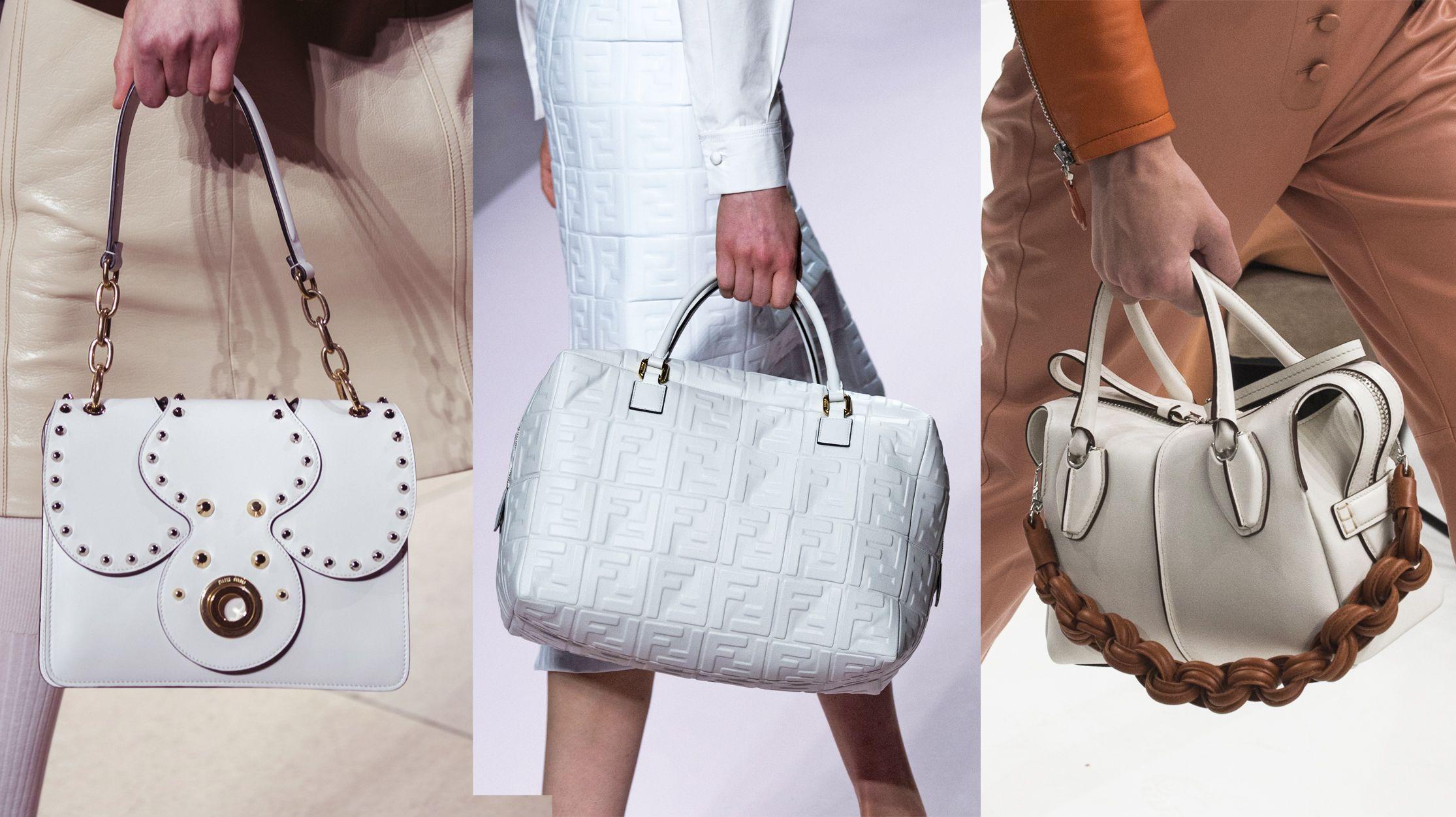 Le borse primavera estate 2019 che hanno sfilato durante il fashion month  hanno un u0027unica ... b2c53781721