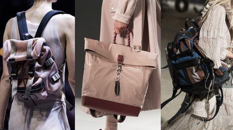 Le borse primavera estate 2019 che hanno sfilato durante il fashion month  hanno un unica ecfb2e80f18