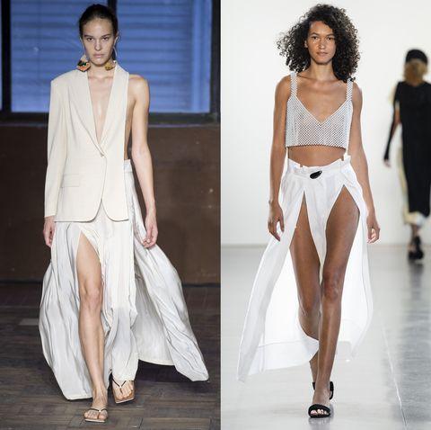 f611e7215816 Non solo vestiti bellissimi la prossima primavera estate 2019 ma anche  pantaloni e gonne da indossare