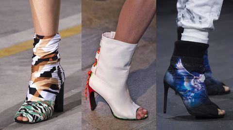 7c8f02d60a07 Sfilano sulle passerelle più importanti del mondo le scarpe della prossima primavera  estate 2019: ci