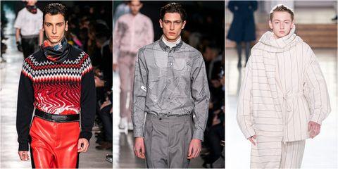 Fashion, Fashion model, Clothing, Runway, Human, Street fashion, Fashion show, Winter, Neck, Outerwear,