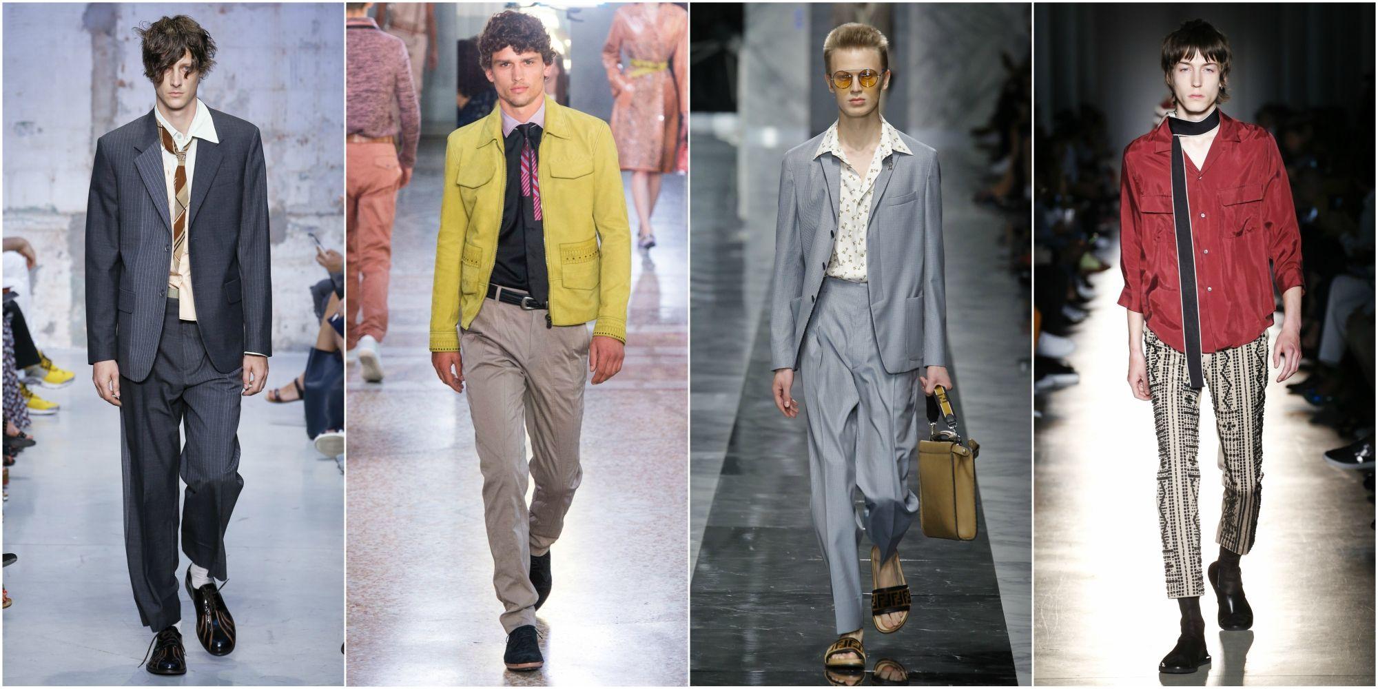 online store bc14a 5d766 La moda uomo della primavera celebra gli anni 60 e 70