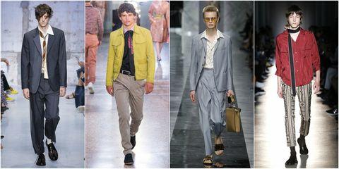 0cb1bc710c1c La moda uomo della primavera celebra gli anni 60 e 70