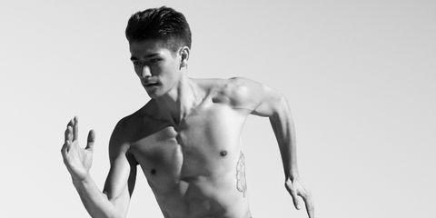 Barechested, Shoulder, Chest, Muscle, Model, Arm, Abdomen, Skin, Standing, Trunk,