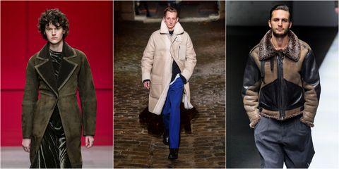 L altro capospalla dell inverno 2019  il cappotto di lana shearling 9870628984f