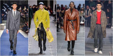 image. Imaxtree. Vi avevamo già dato un assaggio delle tendenze della moda  uomo per l autunno inverno 2018 2019 ... 5409c40b51b