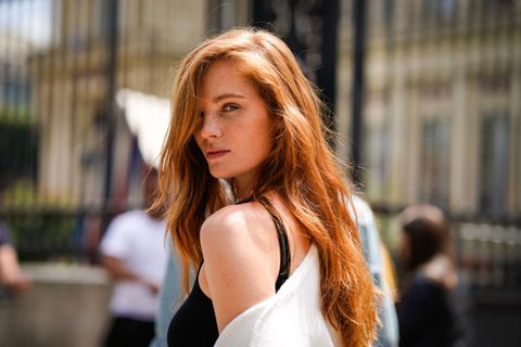 Street Style -Paris Fashion Week - Menswear Spring-Summer 2019 : Day Six