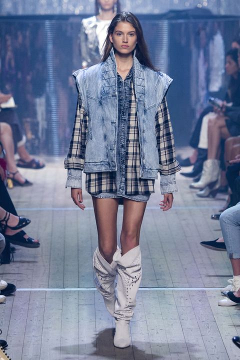 Isabel Marant : Runway - Paris Fashion Week Womenswear Spring/Summer 2019