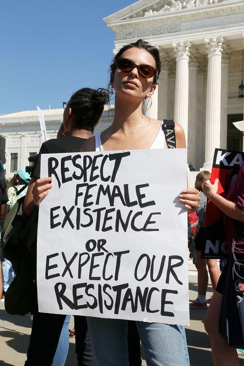 Brett Kavanaugh U.S. Supreme Court Confirmation Protest