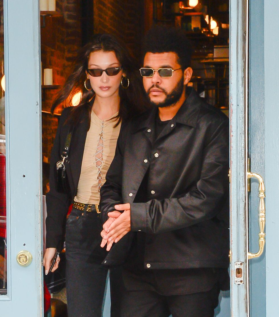 The Weeknd Left a Thirsty Comment on Bella Hadid