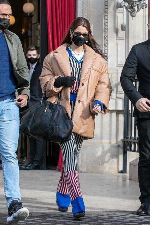 celebrity sightings in paris   january 28, 2021
