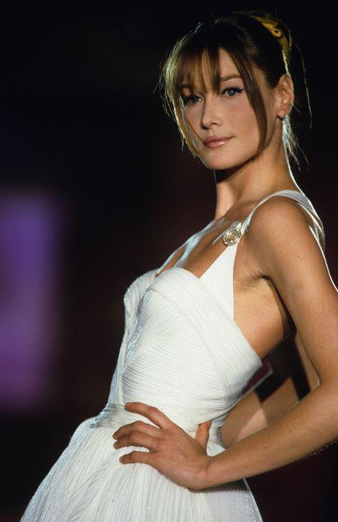 Ex Top Model Carla Bruni Linked To French President Nicolas Sarkozy