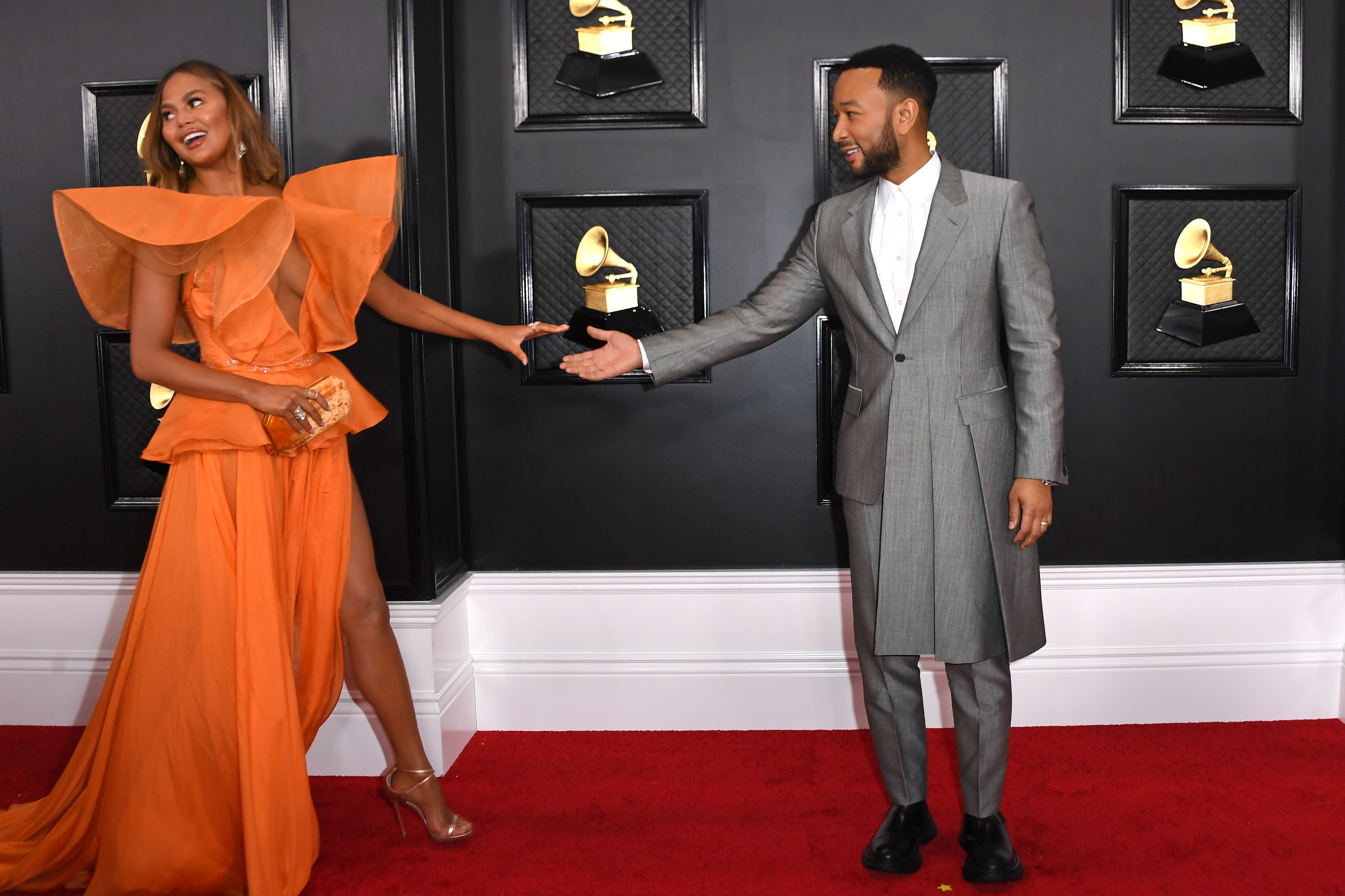 All The Cutest Couples At The 2020 Grammys