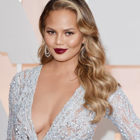 Chrissy Teigen at the87th Annual Academy Awards - Arrivals