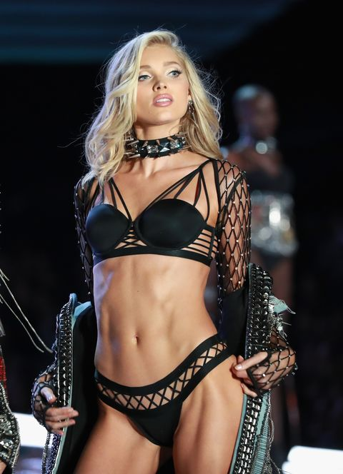 Elsa Hosk Poses Totally Topless in Her Latest Photoshoot