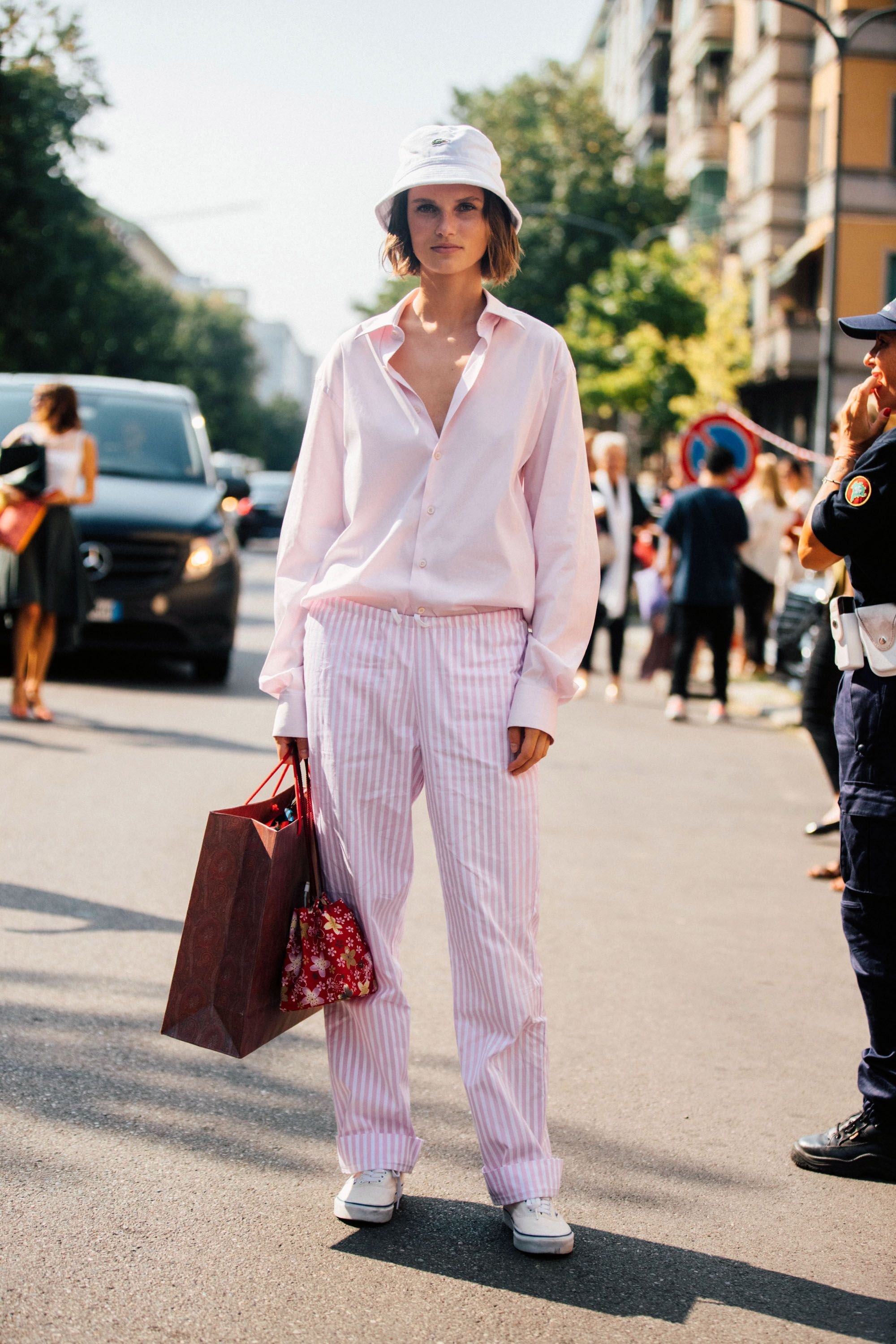Pink Button Down Shirts for Women