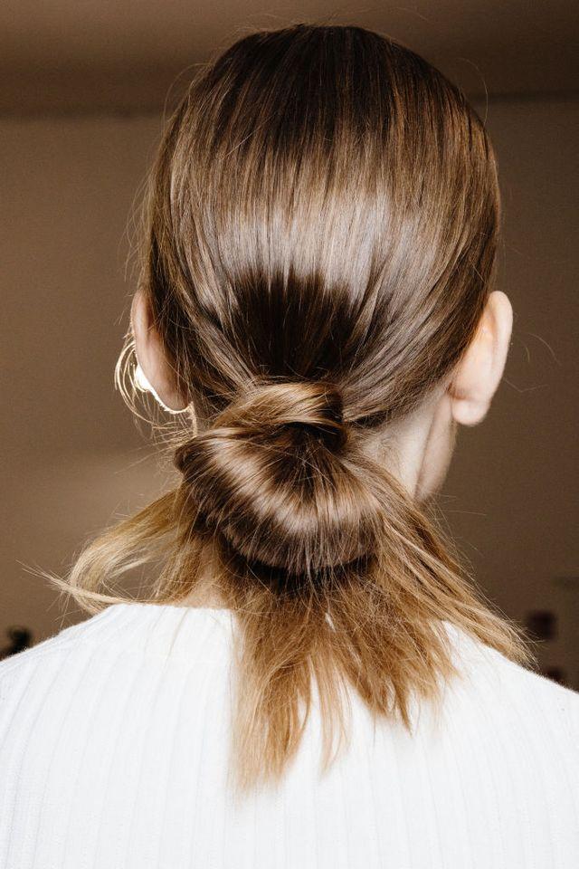 cord knot bun