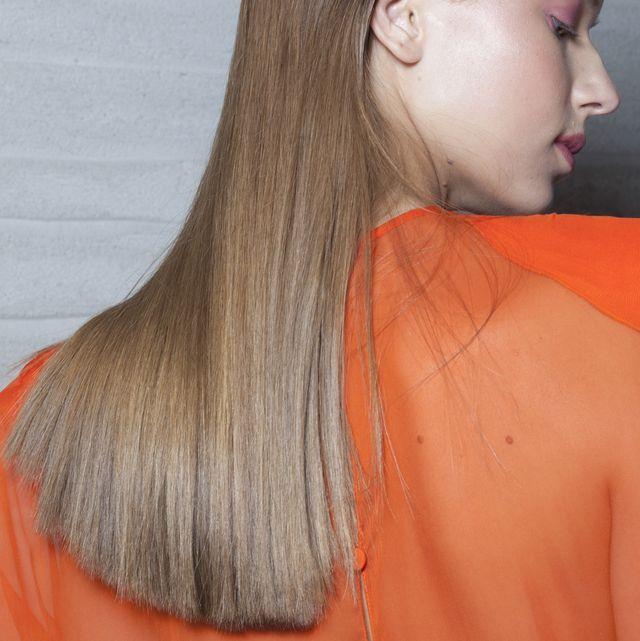 beauty  hair   milan fashion week springsummer 2018