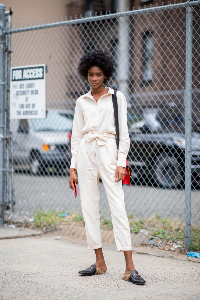 Street Style - New York Fashion Week September 2018 - Day 4