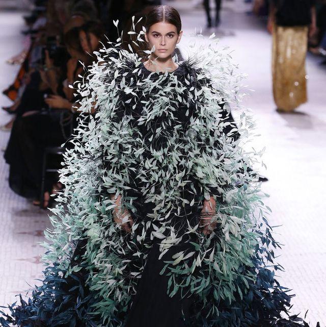Fashion, Haute couture, Outerwear, Runway, Winter, Fashion model, Dress, Fashion show, Event,
