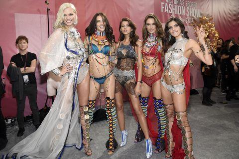 2017 victoria's secret fashion show in shanghai   backstage