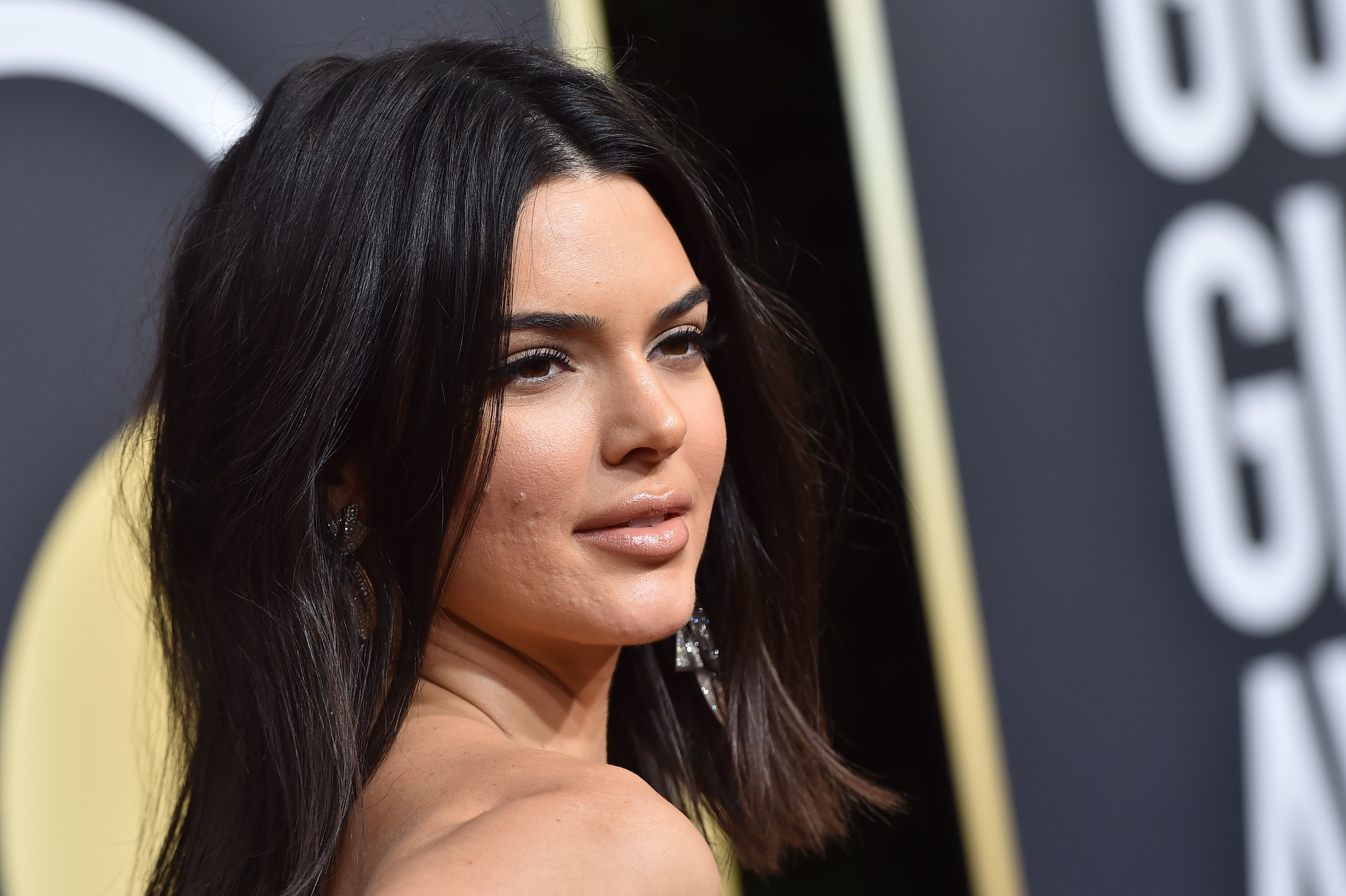 Image result for kendall jenner acne