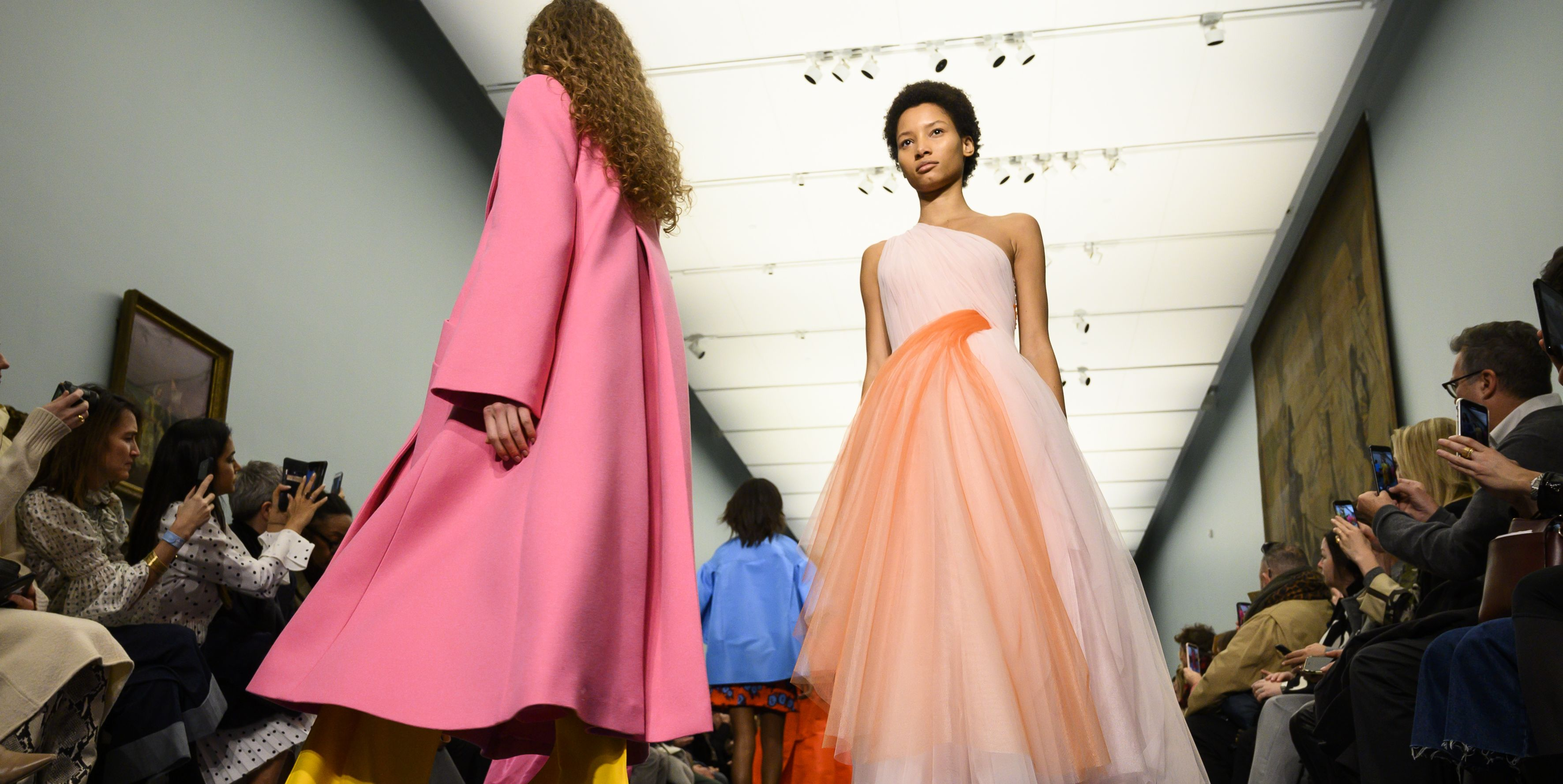 Creative director Wes Gordon provides a colorful selection for party girls young and old.