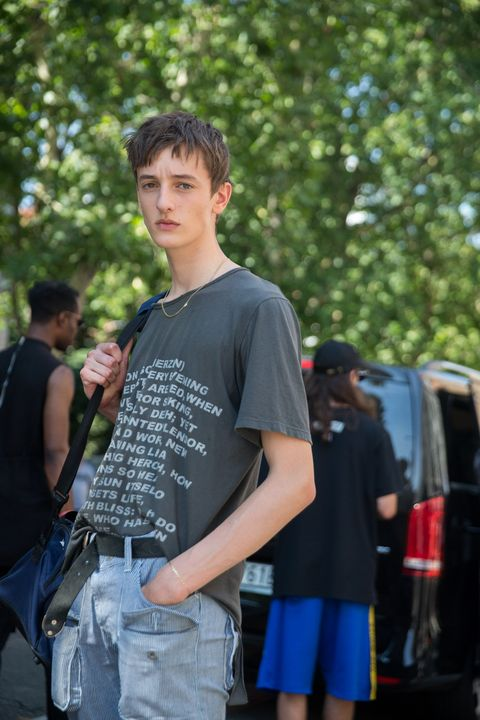 Street Style: June 17 - Milan Men's Fashion Week Spring/Summer 2018