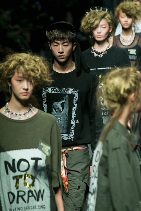 steve j and yoni p   runway   seoul fashion week ss 2015
