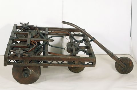 Model of self-propelled cart...