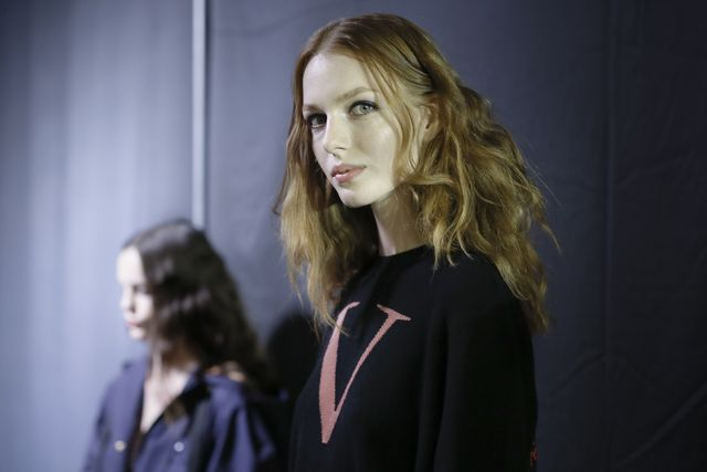 sonia rykiel  backstage   paris fashion week womenswear springsummer 2017