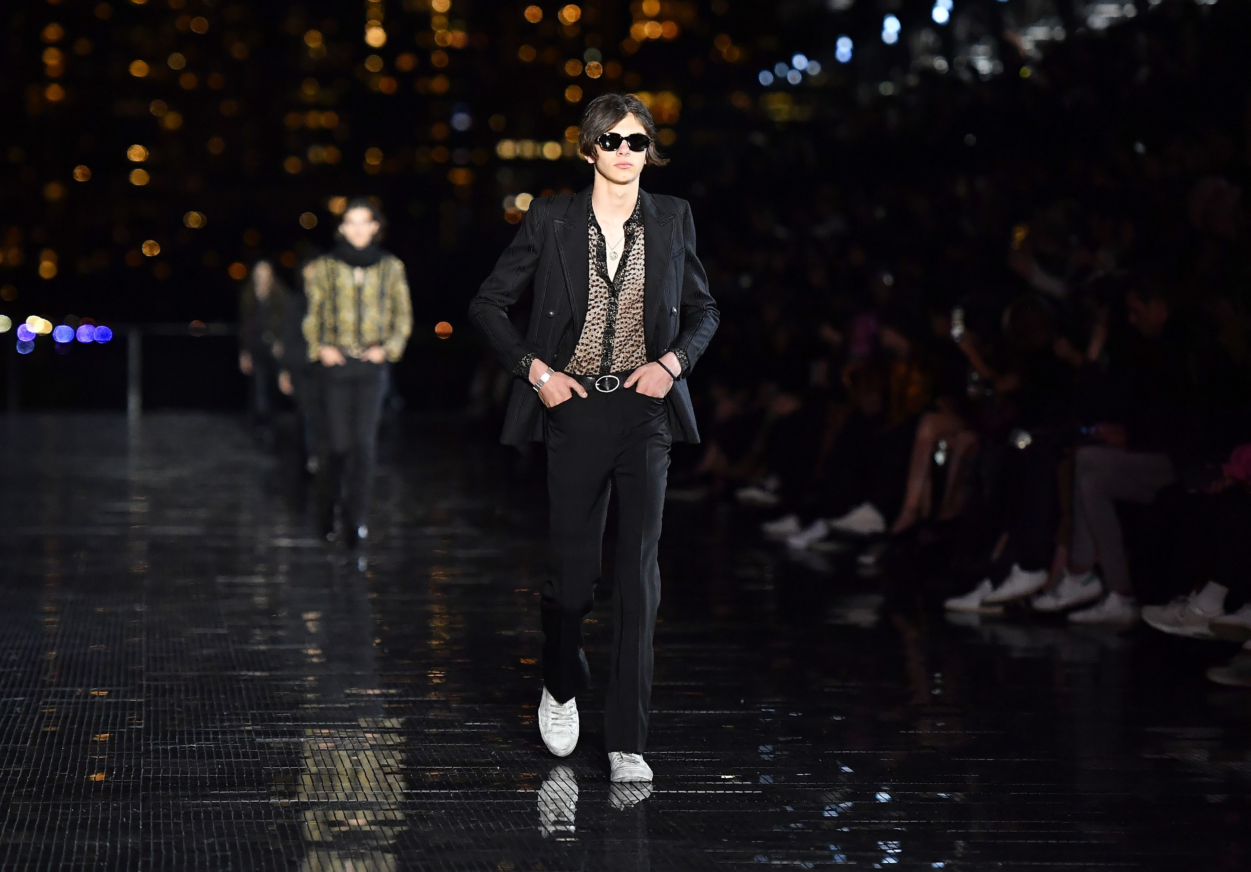 a2743edd60c Saint Laurent Los Angeles Fashion Show Spring 2020 Collection
