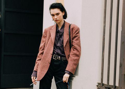 【時尚觀察室】稱霸伸展台的19歲厭世少女──俄羅斯模特兒steinberg