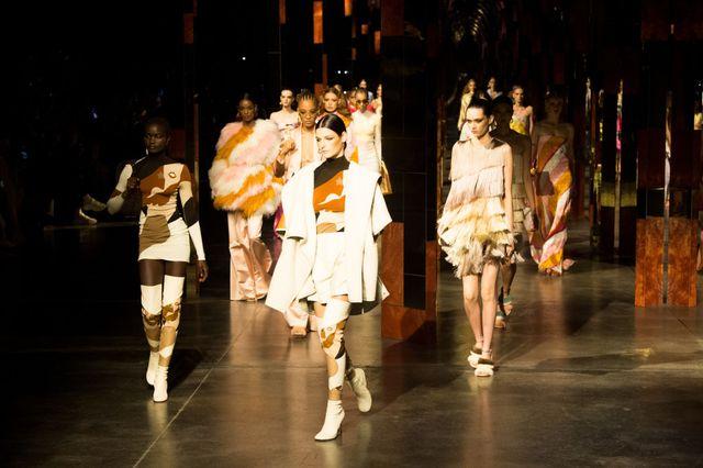 fendi   runway   milan fashion week   spring  summer 2022
