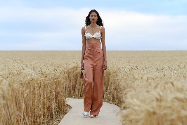 """""""l'amour""""  jacquemus spring summer 2021 show"""