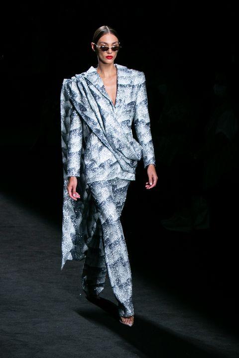fernando claro  catwalk mercedes benz fashion week madrid september 2021
