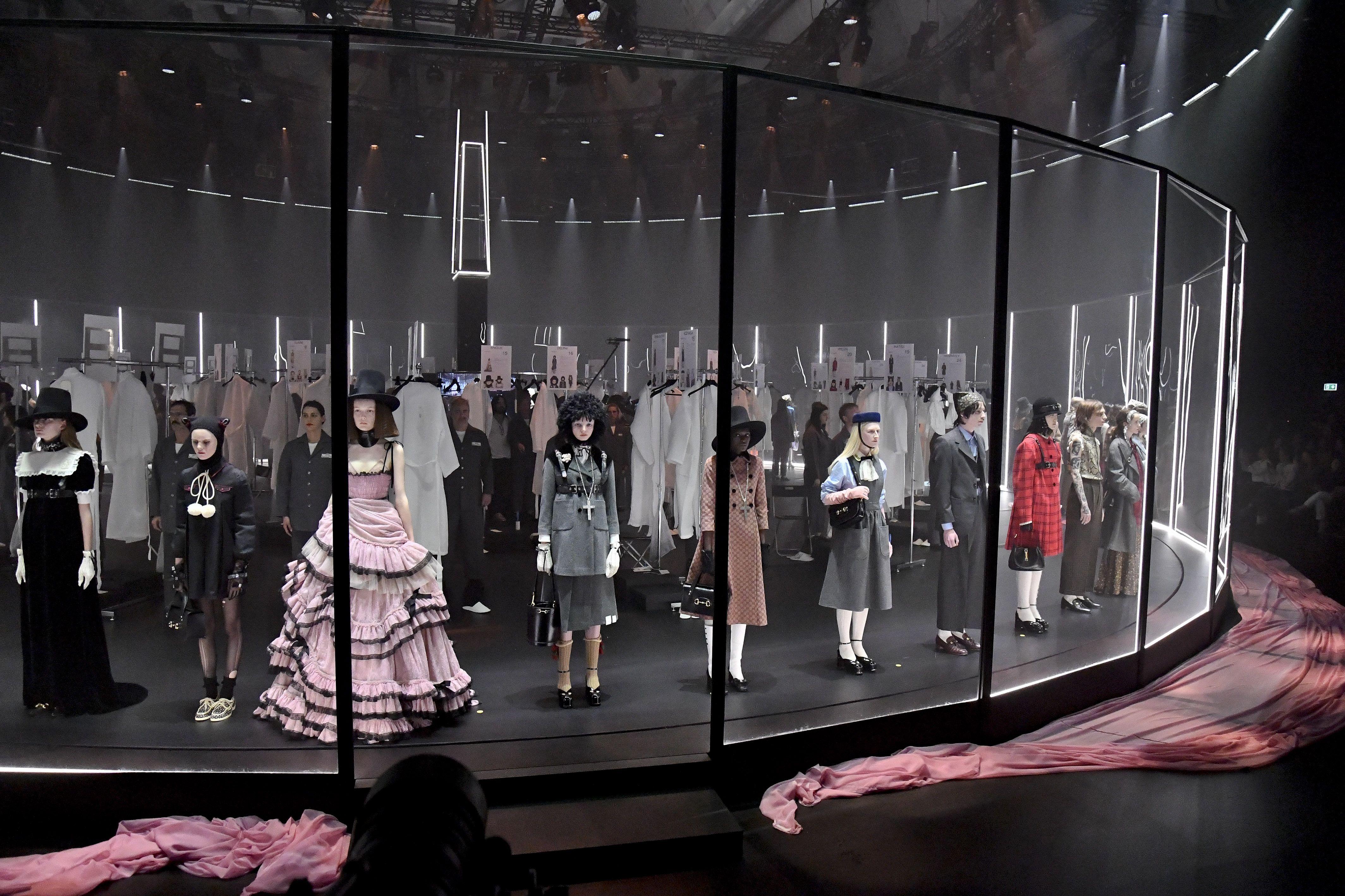Gucci S Alessandro Michele Rethinks Fashion Week