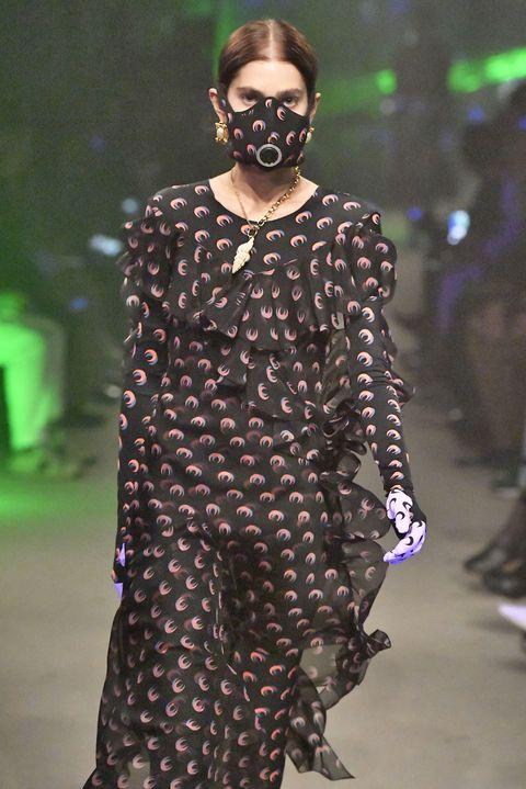 Marine Serre - Runway - Paris Fashion Week Womenswear Fall/Winter 2019/2020