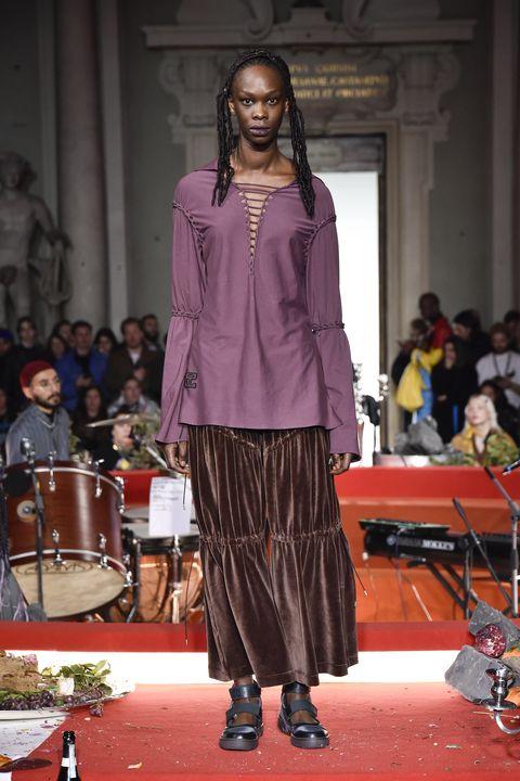 telfar fashion show at pitti immagine uomo 97